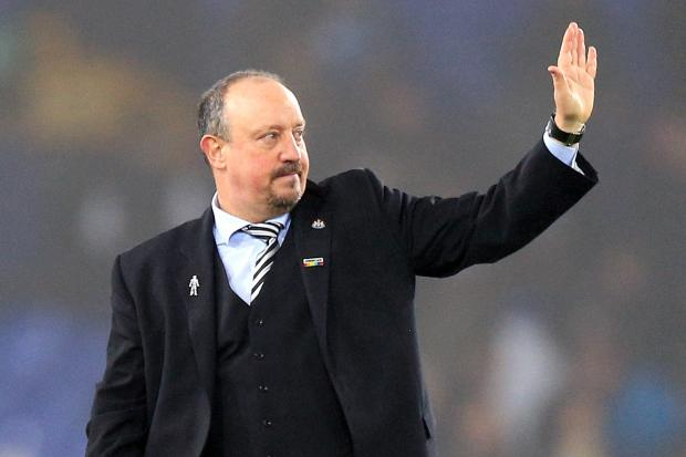 Rafael Benitez will wave goodbye to Newcastle on June 30