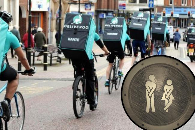 Complaints made that Deliveroo riders are peeing in the streets of Mitcham and Morden