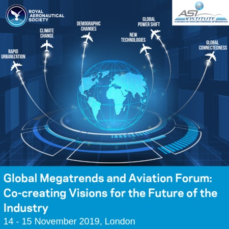Global Megatrends and Aviation Forum, London, 14-15 November 2019