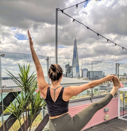 Rooftop Yoga & Breakfast Event by Tower of London - The Yeh Yoga Co.