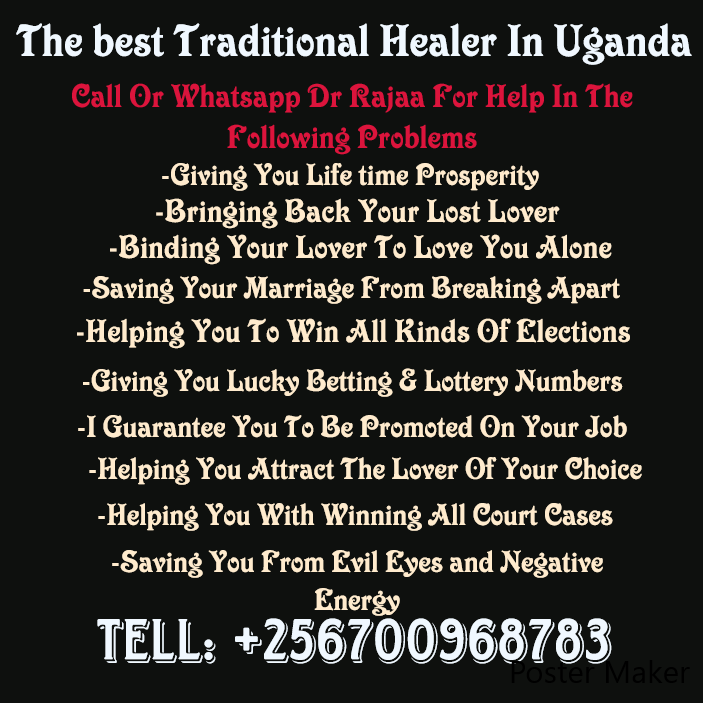 The Most Accredited Psychic / Traditional Healer In The World +256700968783