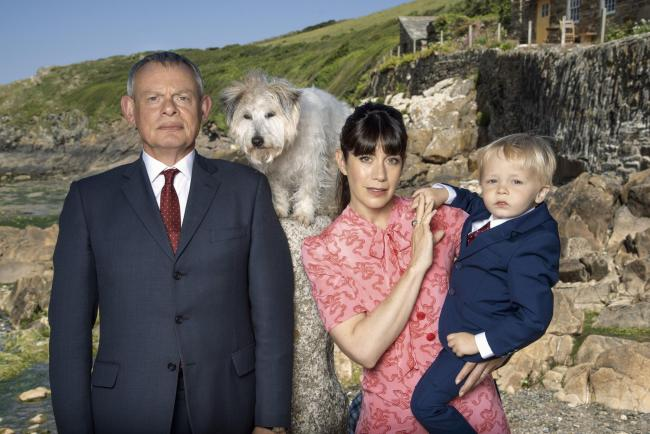 An undated handout from the show Doc Martin. Picture: ©ITV/©Neil Genower