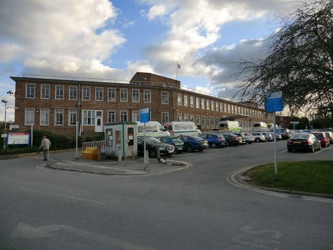 Epsom General Hospital. Image: Brezelsuppe via commons.wikimedia.org