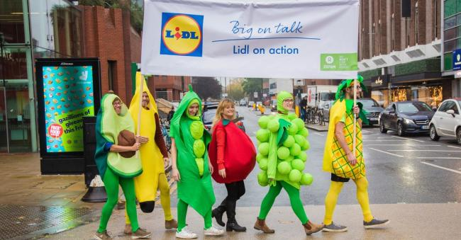 Wimbledon Lidl HQ hand in for Oxfam supermarket petition