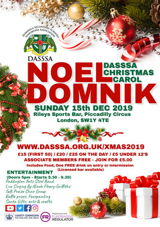 DASSSA Christmas Carol (Noel Domnik) 15th December 2019, Haymarket, London