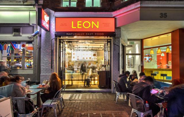 A Leon store in Carnaby Street