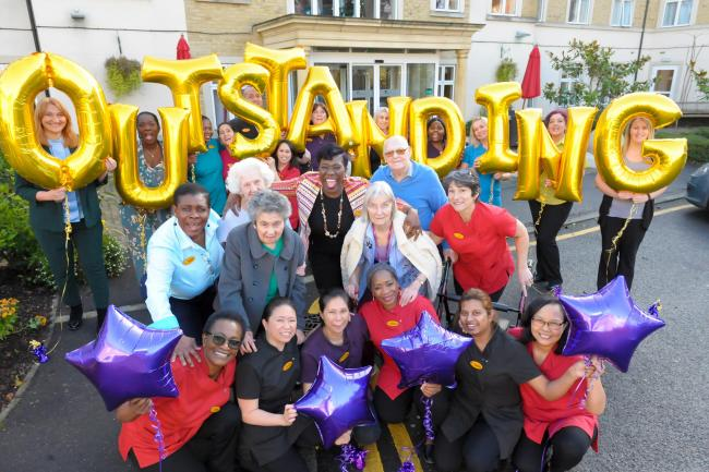Wimbledon care home achieves Outstanding CQC rating