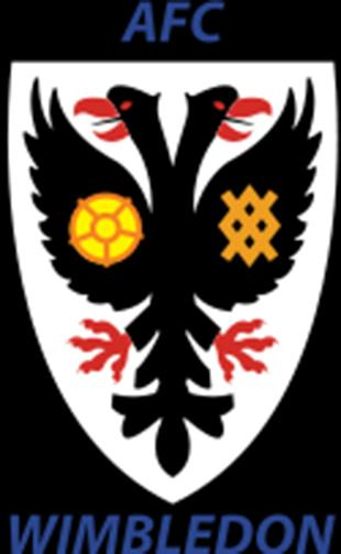 Wimbledon Guardian: Football Team Logo for AFC Wimbledon