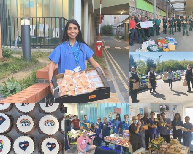 Dr Harshini Pindolia has been delivering food and PPE across South London