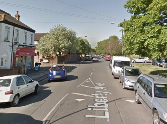 A man was stabbed on Liberty Avenue, Colliers Wood
