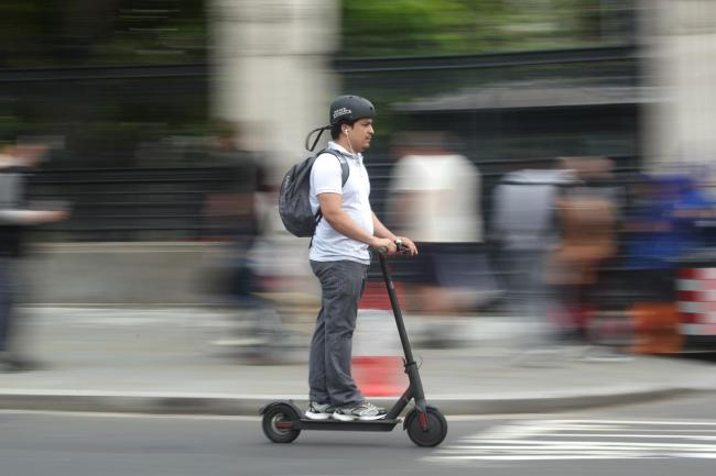E-scooters will be allowed on Britain's roads from this Saturday