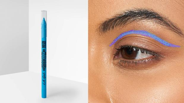 Wimbledon Times: Add some flair to your eye look with the L.A. Girl Shockwave Neon Liner. Credit: L.A. Girl