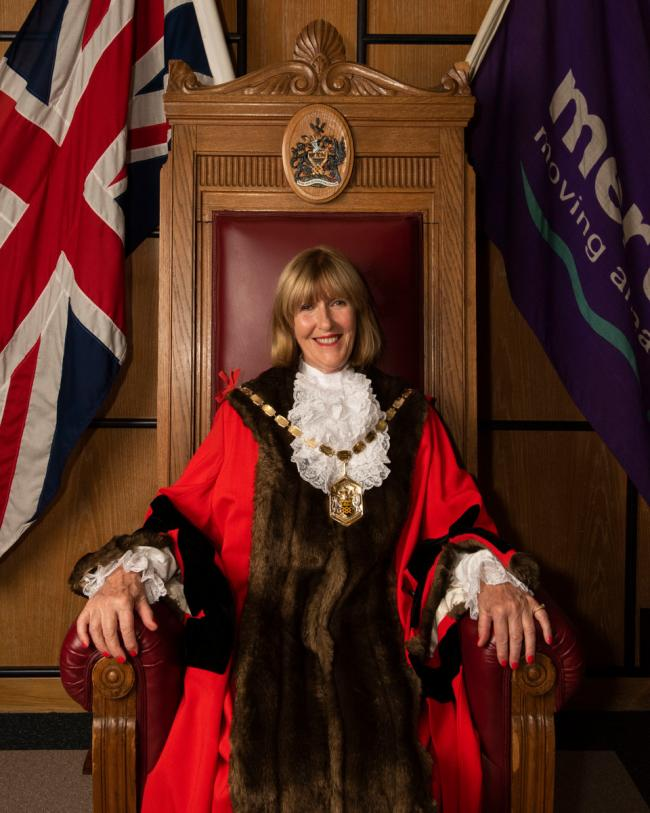 Councillor Sally Kenny will recognise Merton heroes in her new role
