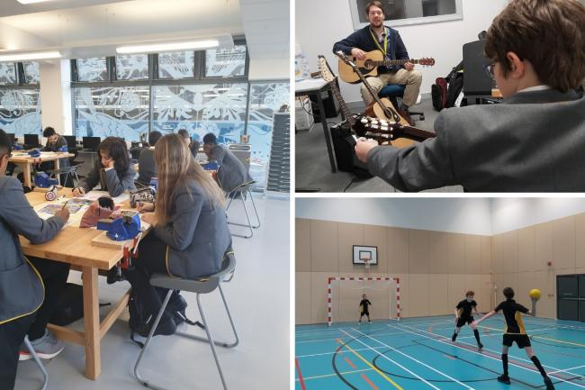 Harris Academy Wimbledon welcomed students to their new build this week