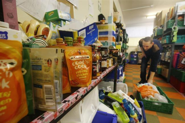 Demand for foodbanks has grown this year in SW London