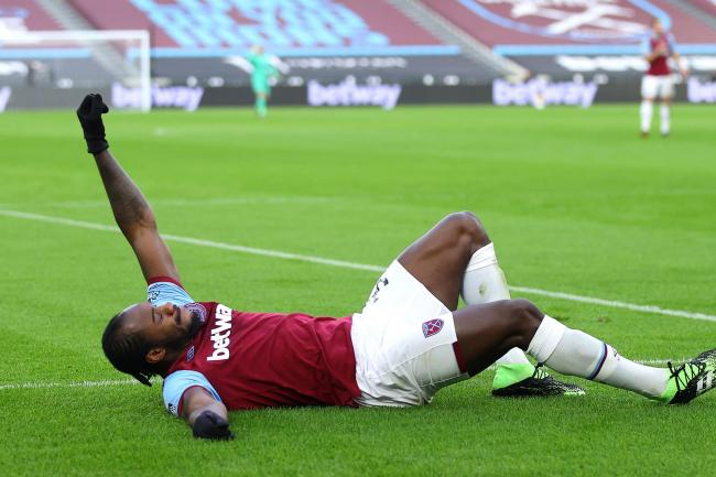 Michail Antonio celebrated in style
