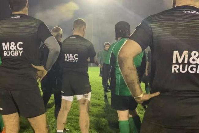 Mitcham and Carshalton Rugby Club celebrate announcement