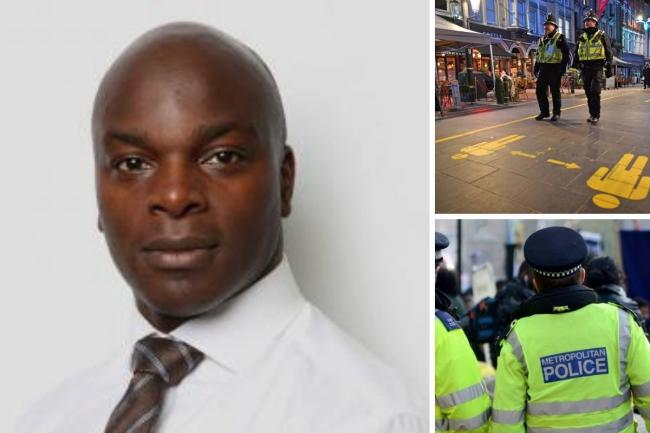 Shaun Bailey has revealed plans to put 8,000 new police officers on the streets if he becomes Mayor of London. Credit: GLA/PA/Newsquest
