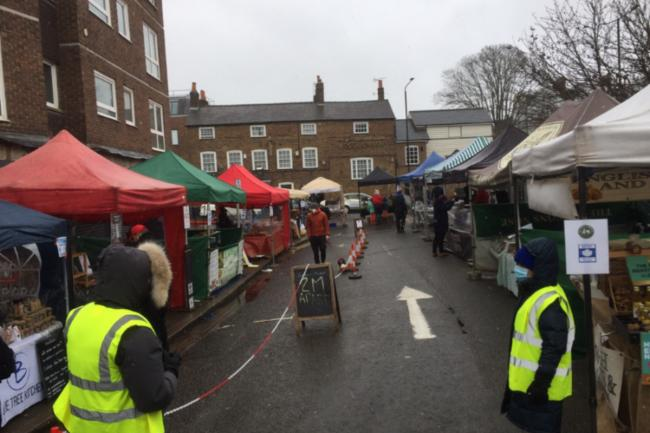 Wimbledon Village Market is set to reopen this weekend