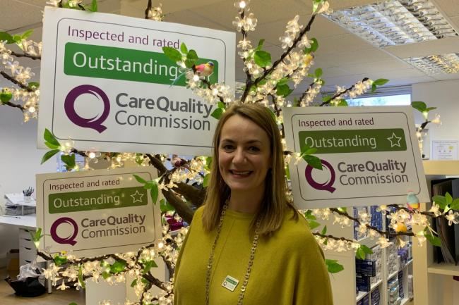 Home Instead Wimbledon pictured after CQC rating
