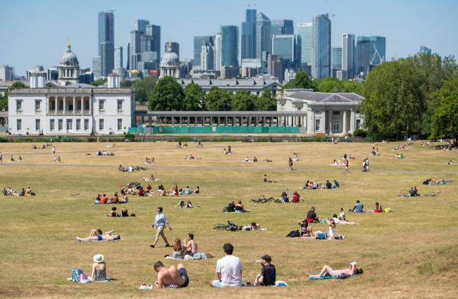 Hot weather expected over the Bank Holiday weekend