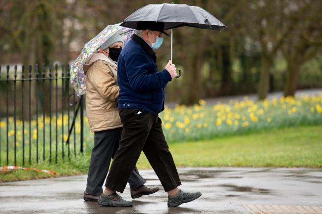 Forecasters say conditions will stay mild on Saturday and Sunday with some showers, but Monday will be increasingly wet and windy
