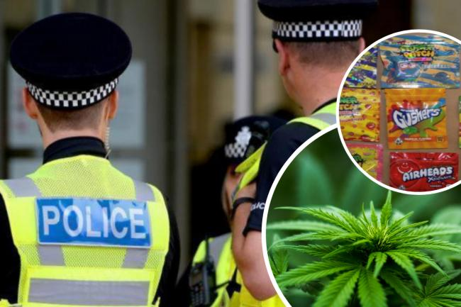 Surrey Police issue update after children hospitalised over edibles