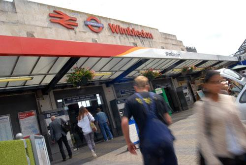 Wimbledon Station was shut for over an hour yesterday afternoon.