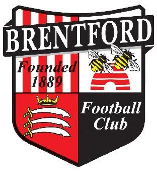 Wimbledon Guardian: Football Team Logo for Brentford
