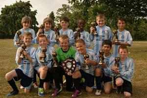 Reformed Waddon Wanderers claim titles in record time