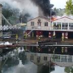 "Wimbledon Guardian: ""Fierce fire"" engulfs Marlow Rowing Club"