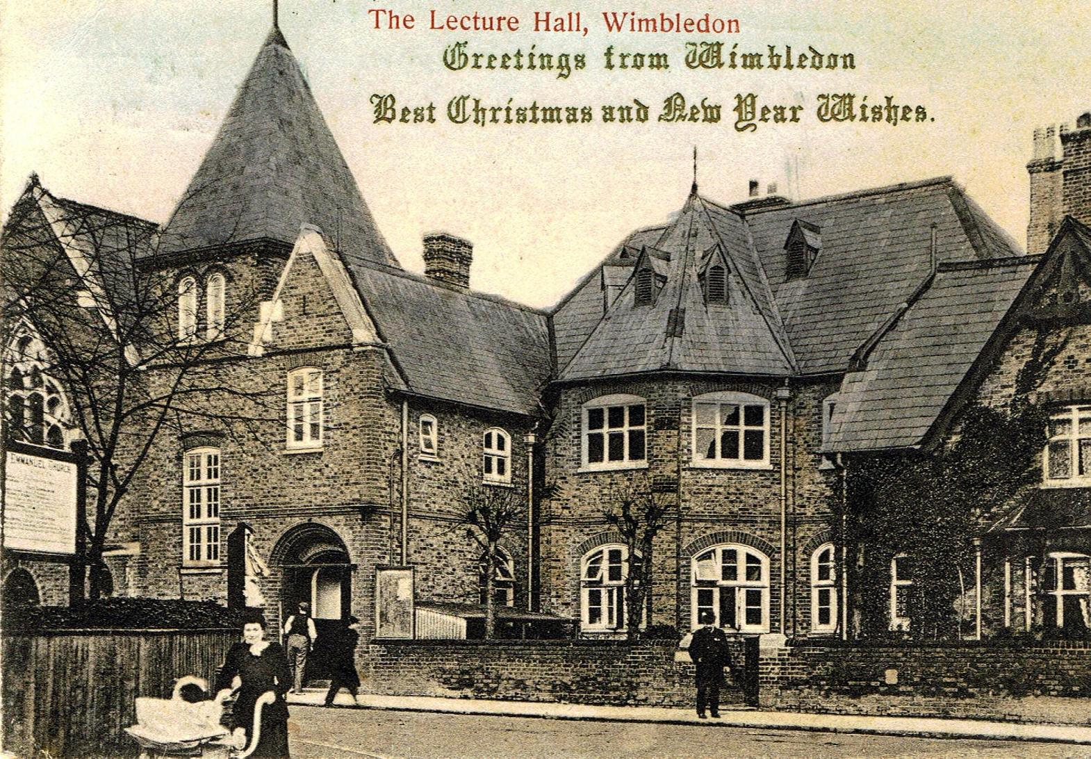The Museum of Wimbledon produces Christmas cards every year, now of course in glorious colour rather than sepia