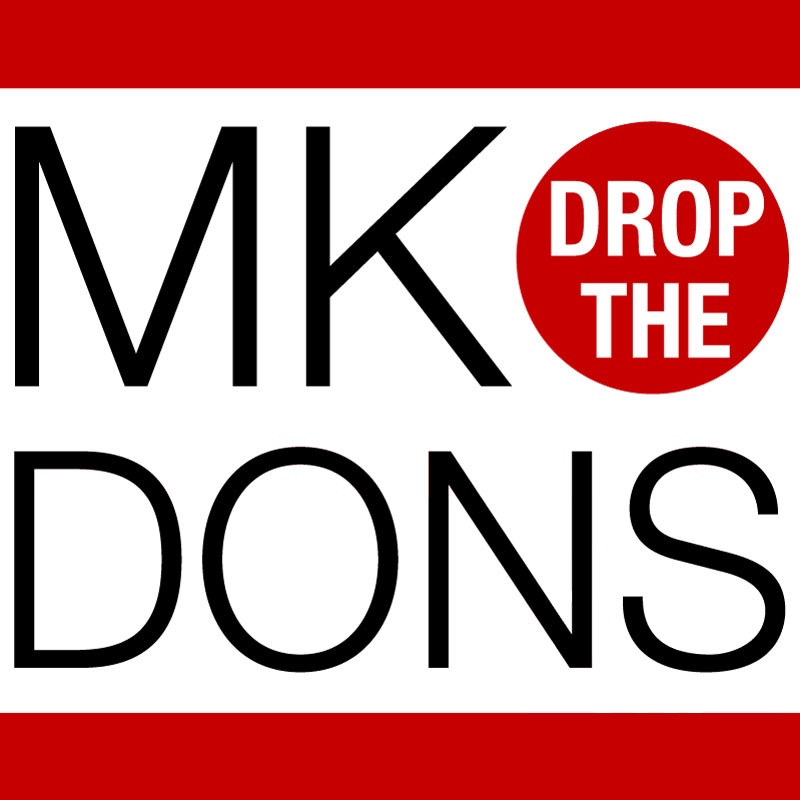 Time for Milton Keynes to DROP THE DONS