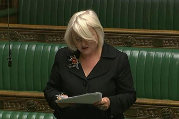 Mitcham and Morden MP Siobhain McDonagh urged the Government to support our Drop the Dons campaign in the Commons yesterday