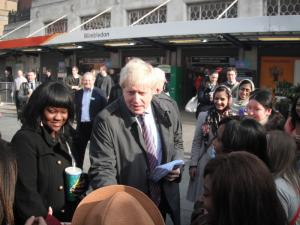 Mayor makes pledge to improve Wimbledon rail service