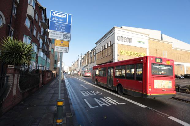 "Opponents of the Hartfield Road bus lane have called it a ""cash cow"""