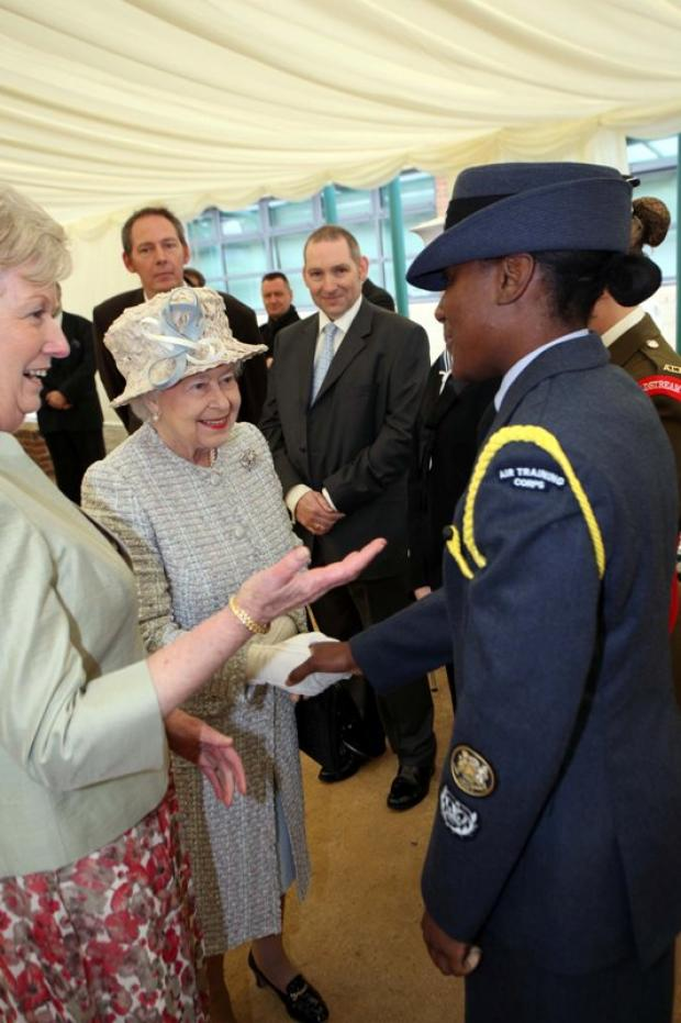 Wimbledon Guardian: The Queen meeting people at St Mark's Academy