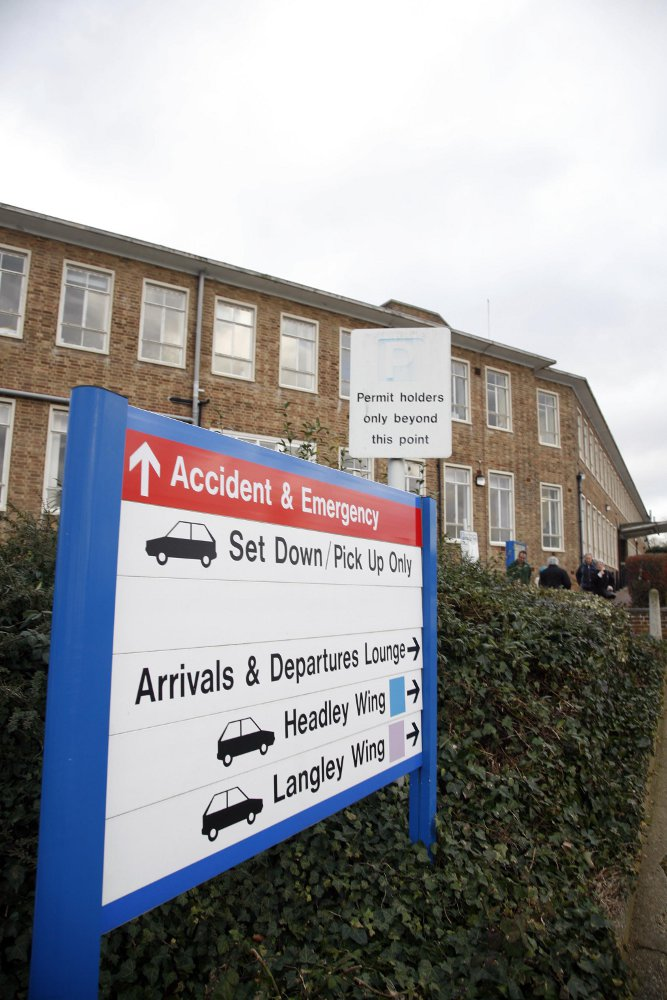 Epsom and St Helier hospitals face proposals to downgrade their A&E and maternity services