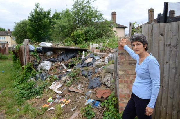 Woman fined for fly tippers trash
