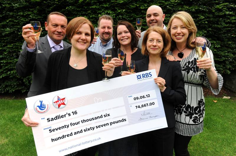 Lotto players pick up jackpot after 15 years
