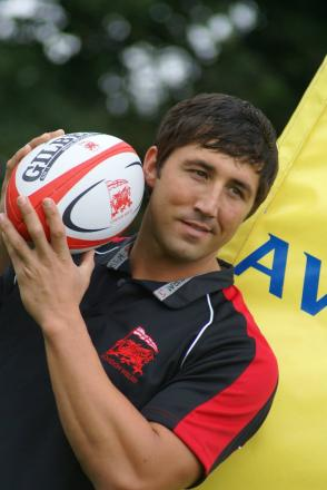 Keen: London Welsh newboy Gavin Henson is determined to make his spell in west London a success