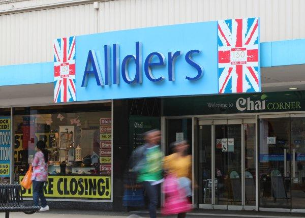 The first round of bids for Allders has opened