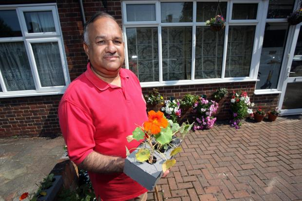 Nazir Khan, who lives in Westway, Raynes Park, has launched the Merton Clean and Green scheme
