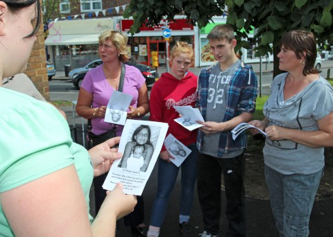 New Addington residents search for Tia Sharp