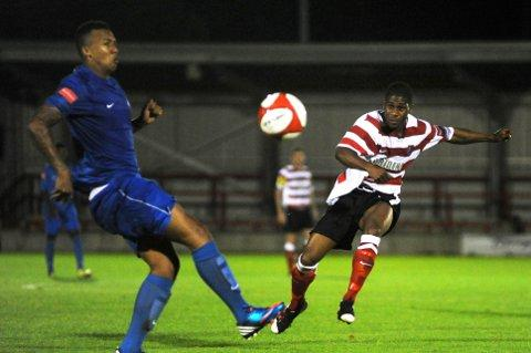 Wimbledon Guardian: Andre McCollin: the striker starts a three-match suspension this weekend