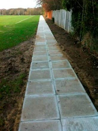 Merton Council rip up £15k pathway