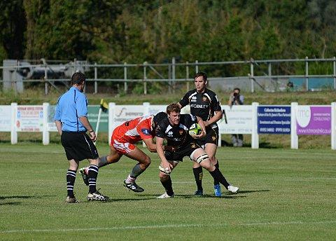Scorer: Mike MacFarlane got a try for Esher last Saturday       SP68702