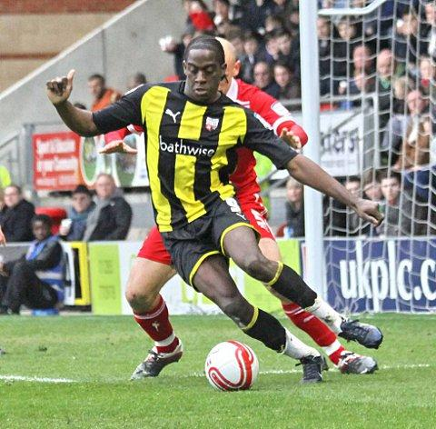 Hot shot: Clayton Donaldson has been among the goals
