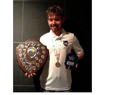 James Jessup, who works in Stoneleigh Brodway, won gold in badminton