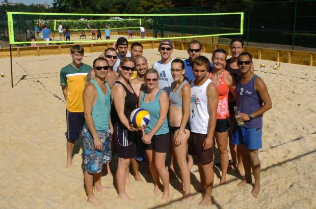 Wimbledon Park welcomes new beach volleyball courts
